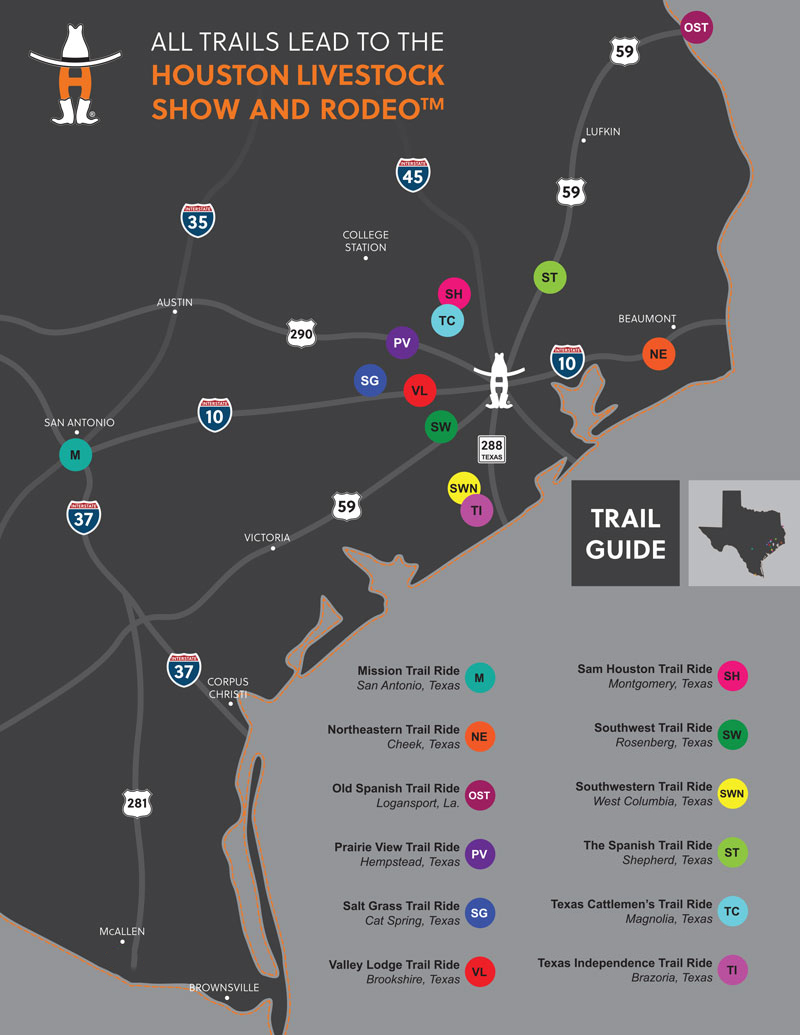 Trail Ride Map